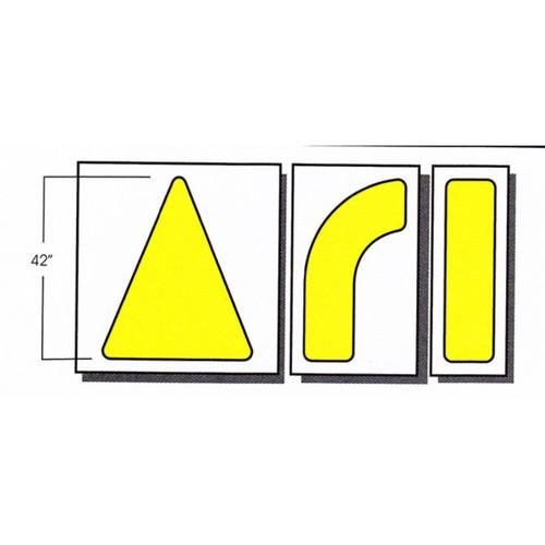 Parking Lot Arrow Stencils   Stop-Painting.com