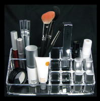 Acrylic Cosmetic Vanity Organizers Luxury Makeup Storage - sku# 5631