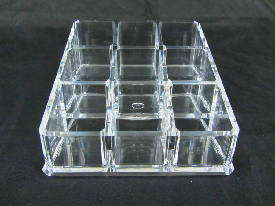 Acrylic Nail Polish & Cosmetic Organizer Square Display - sku# 5681
