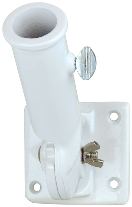 White Adjustable Bracket
