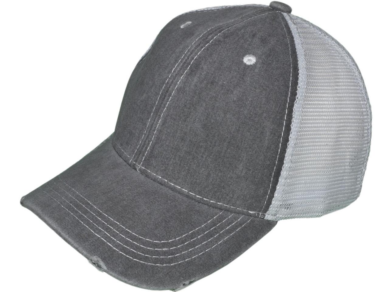b9b81eb673d Distressed Baseball Caps Wholesale - Parchment N Lead