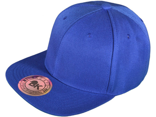 ... Blank Snapback Hats - BK Caps Flat Bill Plain Snapbacks with Same Color  Underbill - 3003 ... e694bdcb9581