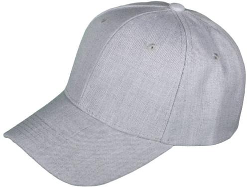 Wholesale 6 Panel Mid Profile Blank Baseball Caps Black