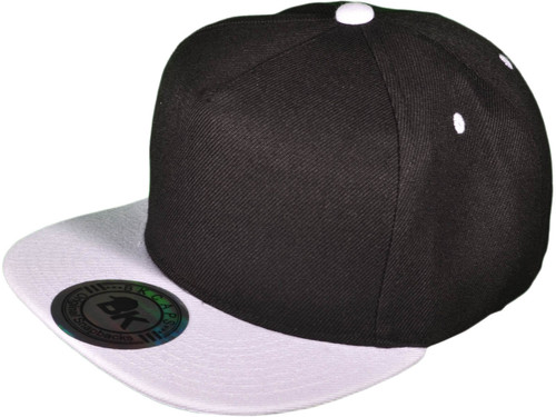 ... 5 Panel Snapbacks - BK Caps Flat Bill Snapback Hats with Same Color  Underbill (14 ... 0d4590e4165b
