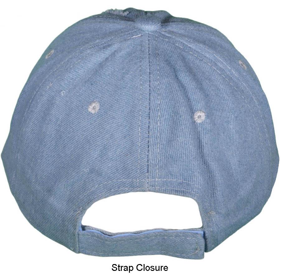 cd52ed45886 (Pictured Left  VELCRO STRAP BASEBALL HAT)