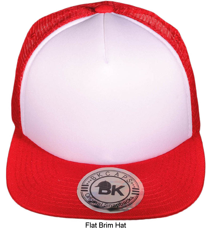 wholesale-foam-front-mesh-flat-bill-trucker-hats-bkc-2999-white-red-copy.jpg