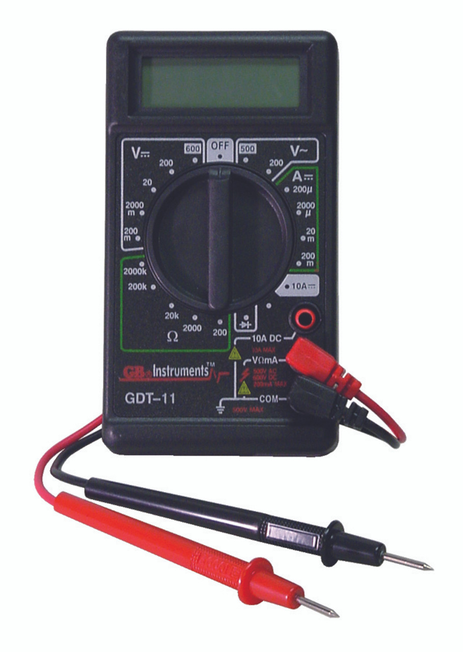 lcd digital multimeters gdt 11 gardner bender rh 1stplacesupply com GB Instruments GDT-11 Multimeter GB Instruments GDT-11 Multimeter