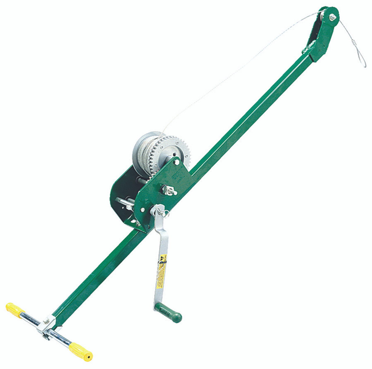 Hand Crank Wire Pullers (200 ft.): 766 , Greenlee