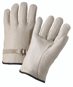 4000 Series Cowhide Leather Driver Gloves (Medium): 4100M