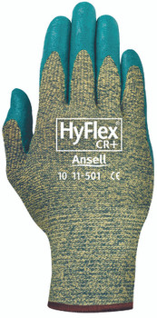 Ansell HyFlex CR+ Gloves: 11-501-10