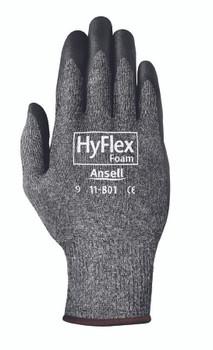 HyFlex Foam Gray Gloves: 11-801-10