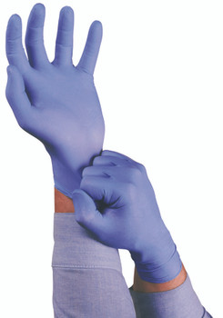 TNT Blue Disposable Gloves: 92-675-XL