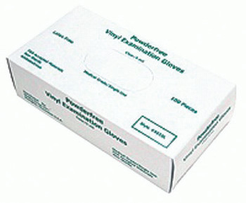 Disposable Vinyl/Latex Gloves (Medium): 5010M