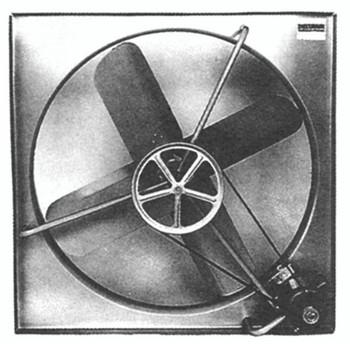 Belt-Drive Exhaust Fans (42 in.): CE-42-B