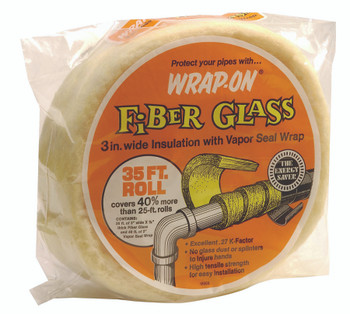 Pipe Insulation Wrap (35 ft.): 16506