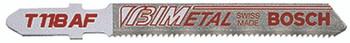 Bi-Metal Jigsaw Blades (3 in.): T118AF