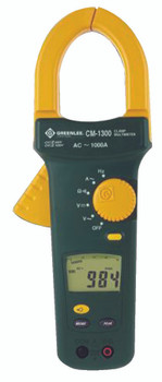 AC Clamp-On Meters: CM-1300