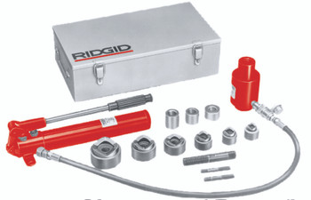 Ridgid Hydraulic Knockout Sets: 23477