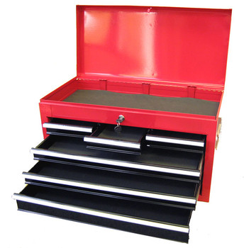 Six Drawer Top Tool Chest (Red or Black)