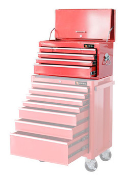 Six Drawer Top Tool Chest (Red)