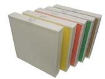 Aeolus Mini Pleat Plastic Frame Filters - Merv 14 (Yellow, Choose Size)