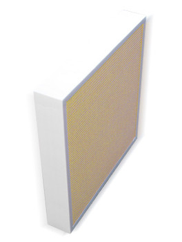 Aeolus Mini Pleat Plastic Header Frame Filters - Merv 8 (Tan, Choose Size)