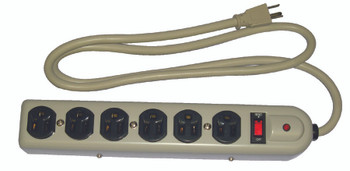 Power Station Multiple Outlet Metal Strips: 04625