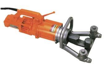 Benner Nawman Portable Electric Rebar Bender - 1 Inch (#8): DBR-25WH