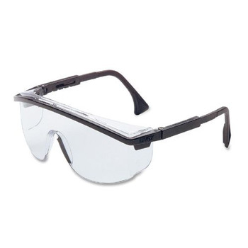 Astrospec 3000 Eyewear (Black with Clear Lens): S135