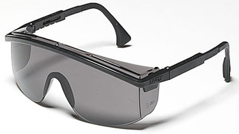 Astrospec 3000 Eyewear (Black with Gray Lens): S136