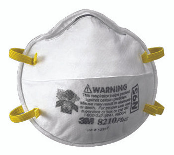 N95 Particulate Respirators: 8210PLUS