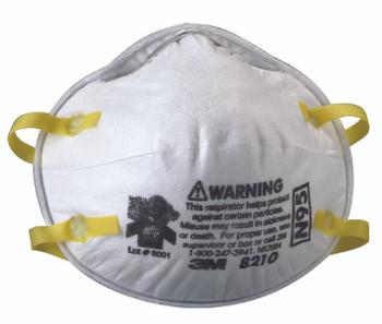 N95 Particulate Respirators: 8210