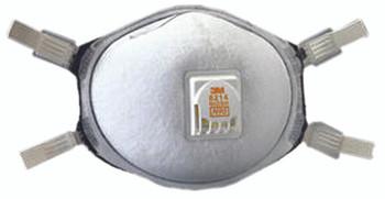 N95 Particulate Respirators: 8214