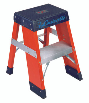 Louisville FY8000 Series Industrial Fiberglass Step Stands (2 ft.): FY8002