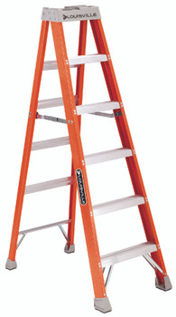 FS1500 Series Fiberglass Step Ladders (6 ft.): FS1506