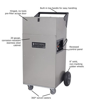 Abatement Technologies HEPA-AIRE® Portable Air Scrubber: PAS1200 1