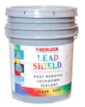 Lead Shield Post Removal Lockdown - Clear (Five Gallon): 5470