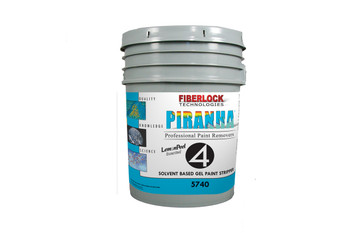 Piranha 4 - Lemon Scented Solvent Gel (Five Gallon): 5740