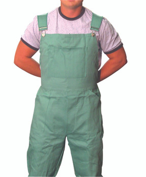 Cotton Sateen Bib Overalls: CA-135-XL