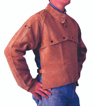 Cape Sleeves (Golden Brown Leather): Q-2-M