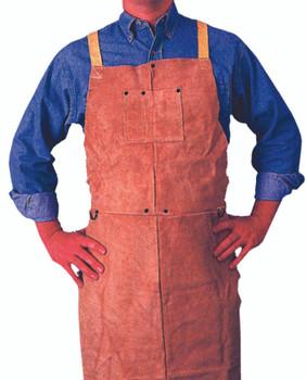 Bib Aprons (Golden Brown Leather): Q-7