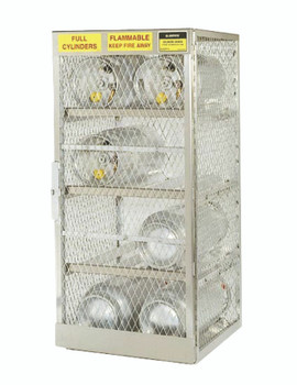 Aluminum Cylinder Lockers (12 Cylinders): 23004