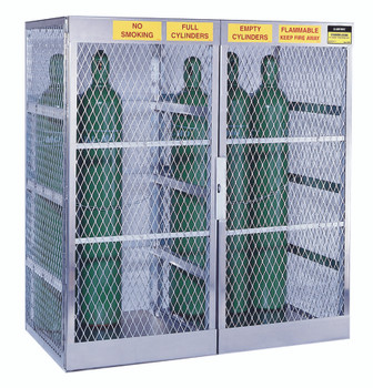 Aluminum Cylinder Lockers (20 Cylinders): 23007