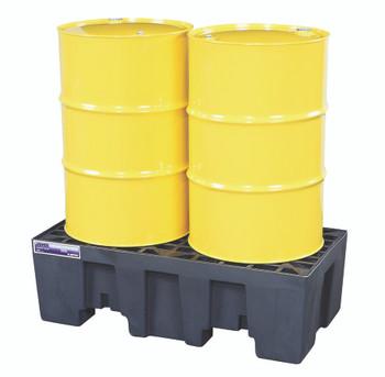Justrite Gator Spill Control Pallets (2 Drum Unit): 28234
