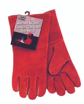 Anchor Cowhide Quality Welding Gloves (Large): 100GC