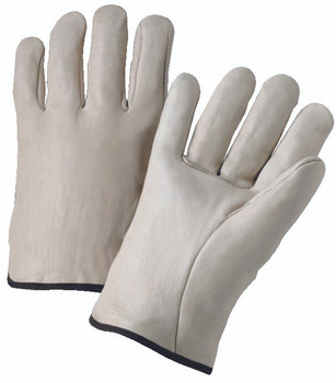 4000 Series Cowhide Leather Driver Gloves (Large): 4000L