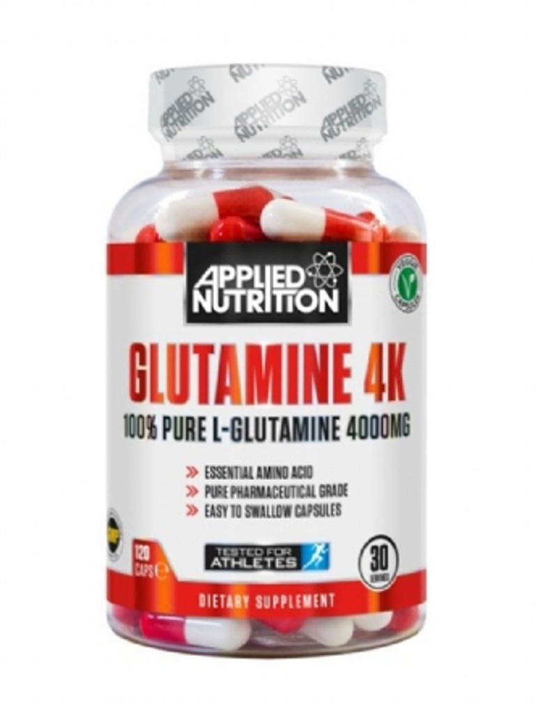 Applied Nutrition Glutamine 4k 120 Veggi Caps