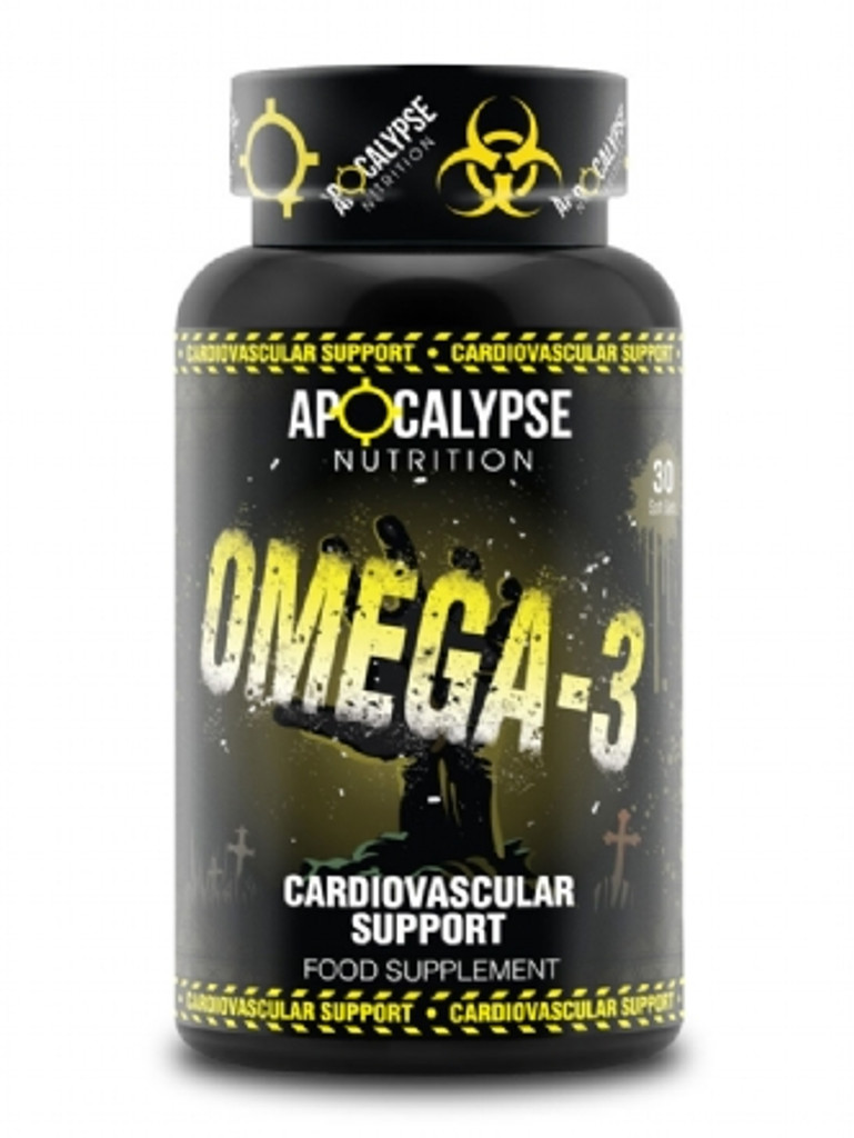 Apocalypse Omega 3s contain EFAs which are essential to physical and mental well being. They are especially important for athletes and bodybuilders as they help to keep joints and ligaments strong and mobile.
