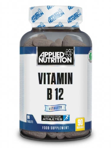 Applied Nutrition Vitamin B12 90 x Veggie Tablets