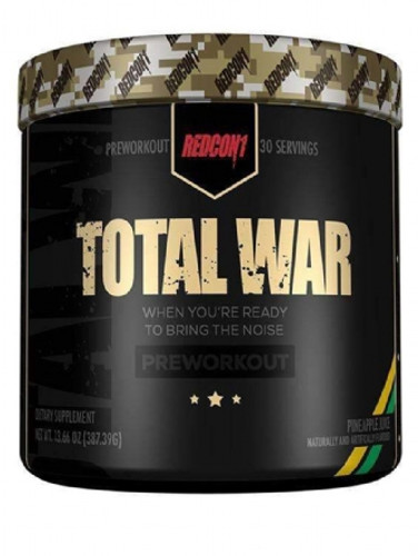 Redcon1 Total War Pre Workout 30 Servings - EU Formula